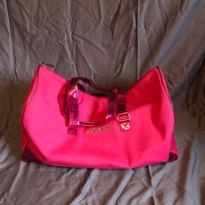 Extra large Victoria's Secret duffel bag
